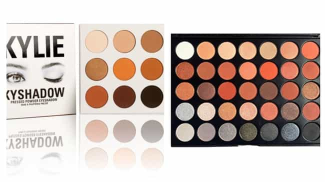 Kylie Cosmetics Bronze Palette... is listed (or ranked) 3 on the list The Best Eyeshadow Dupes For Cult Favorite Palettes