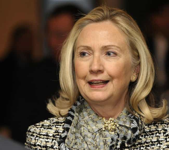 Hillary Clinton Will Con... is listed (or ranked) 3 on the list Conspiracy Theories We Think Will Be a Thing in 2018