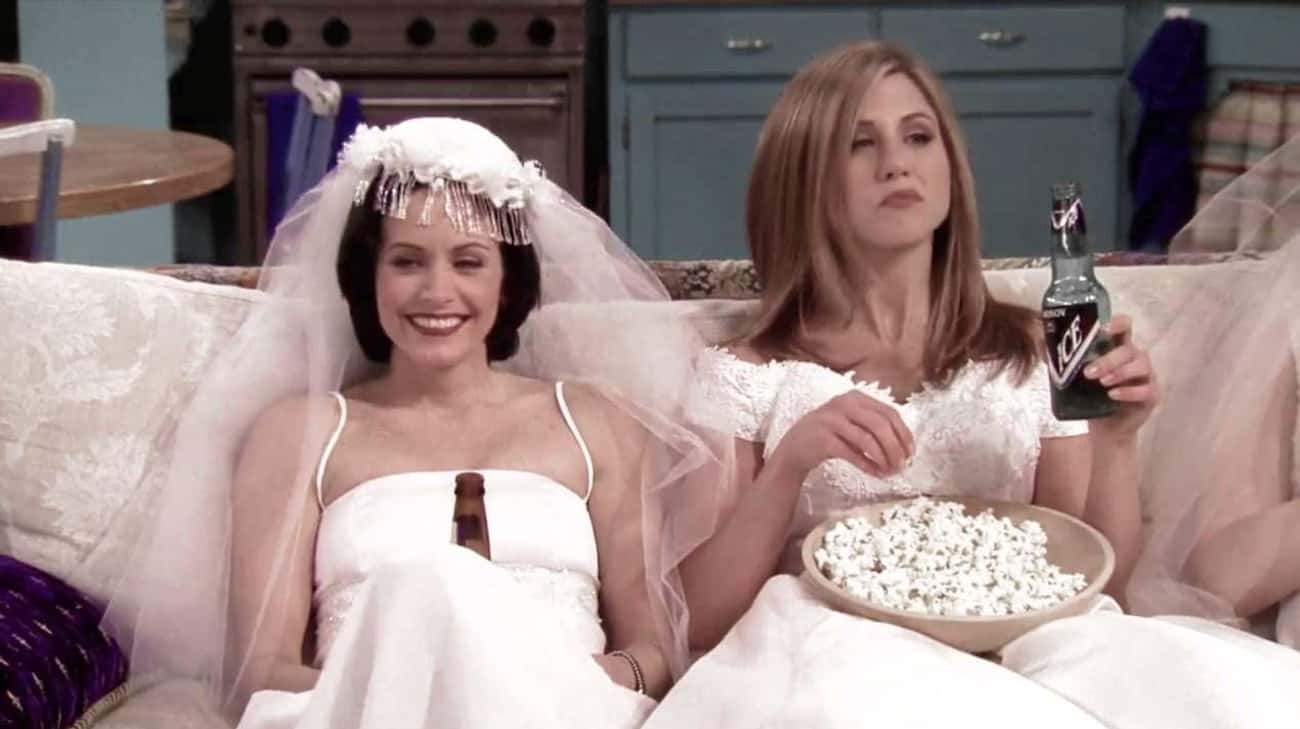 Jennifer Aniston And Courteney is listed (or ranked) 2 on the list Famous Co-Stars Who Became Besties In Real Life