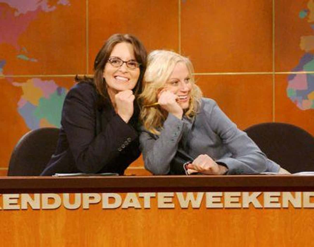 Tina Fey And Amy Poehler is listed (or ranked) 3 on the list Famous Co-Stars Who Became Besties In Real Life