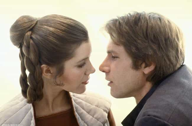 Carrie Fisher And Harrison For... is listed (or ranked) 3 on the list Secrets From Behind The Scenes Of 'Star Wars'