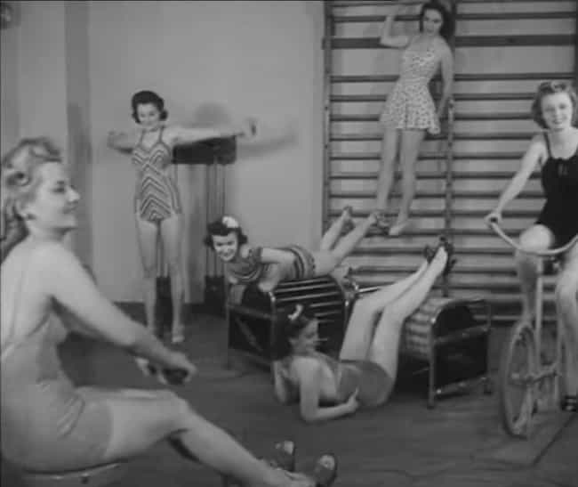 Without Workout Wear From Pran... is listed (or ranked) 1 on the list These Old-Timey Photos of Women Working Out Prove Going To The Gym Has Sucked For Centuries