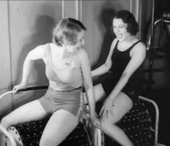 What Leg Day Looked Like In Th... is listed (or ranked) 3 on the list These Old-Timey Photos of Women Working Out Prove Going To The Gym Has Sucked For Centuries
