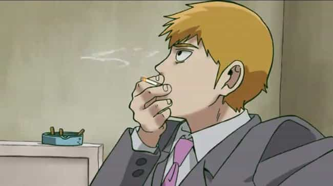 Reigen Arataka — Mob Psy... is listed (or ranked) 4 on the list 14 Anime Characters Who Can't Stop Lying
