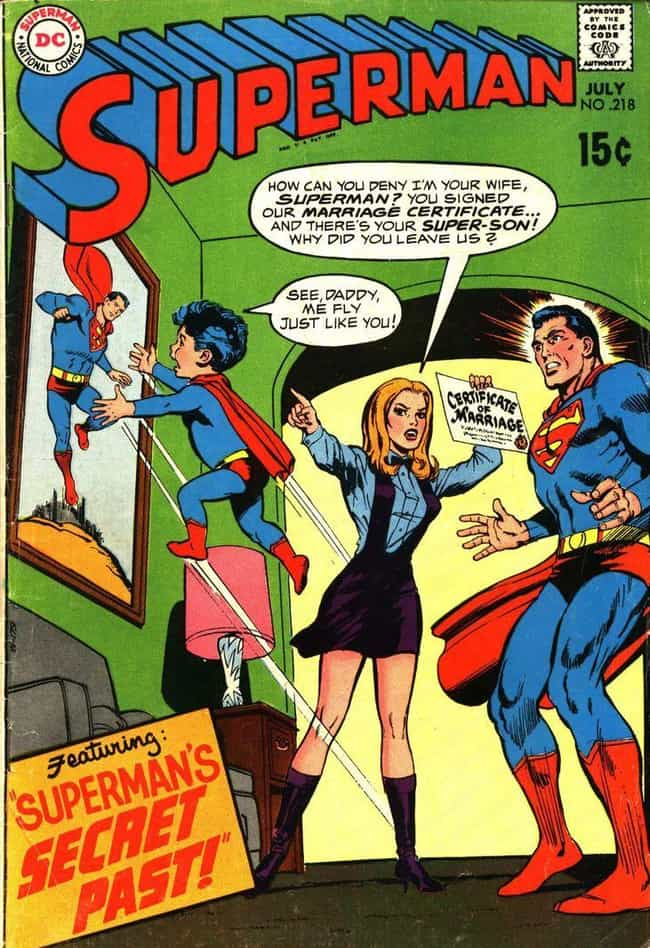He Might Be An Absentee ... is listed (or ranked) 4 on the list 15 Superman Comic Covers That Are INSANE Out of Context