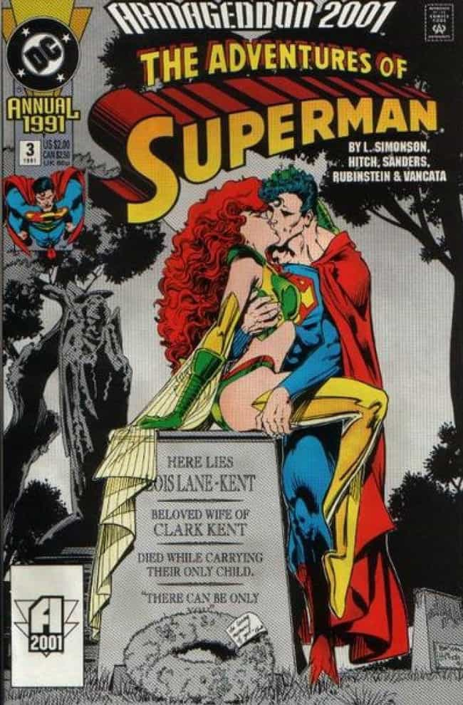 He Has No Respect For Hi... is listed (or ranked) 1 on the list 15 Superman Comic Covers That Are INSANE Out of Context