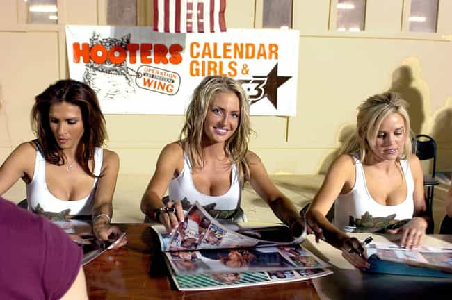 The Yearly Hooters Calendar Is... is listed (or ranked) 1 on the list Things You Didn't Know About Hooters, The Original Breastaurant