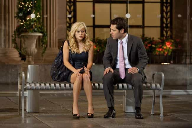 Paul Rudd and Reese Witherspoo... is listed (or ranked) 1 on the list Rom-Com Co-Stars You Totally Forgot Were In Other Movies Together