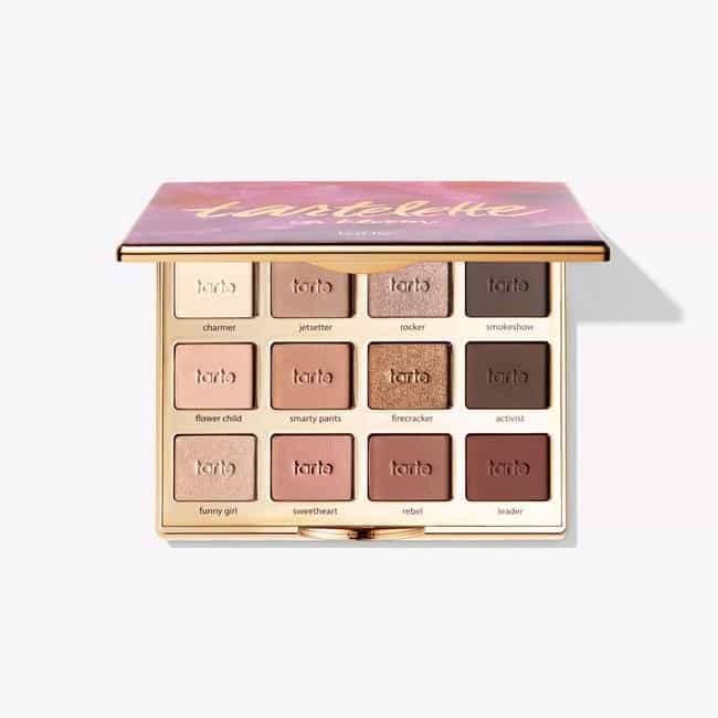 Tartelette In Bloom Clay Palet... is listed (or ranked) 2 on the list Tarte Products You Won't Be Able To Live Without