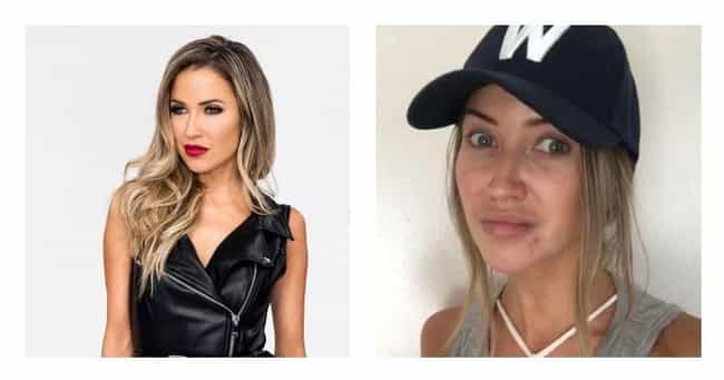 Kaitlyn Bristowe is listed (or ranked) 2 on the list Bachelor Contestants With And Without Their Makeup