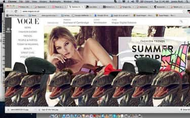 The Vogue Website Was Filled With Accessorized Dinosaurs