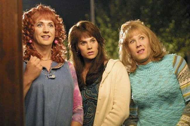 Michael Rosembaum, Barry Watson, And Harland Williams Are The Ugliest Girls In 'Sorority Boys'