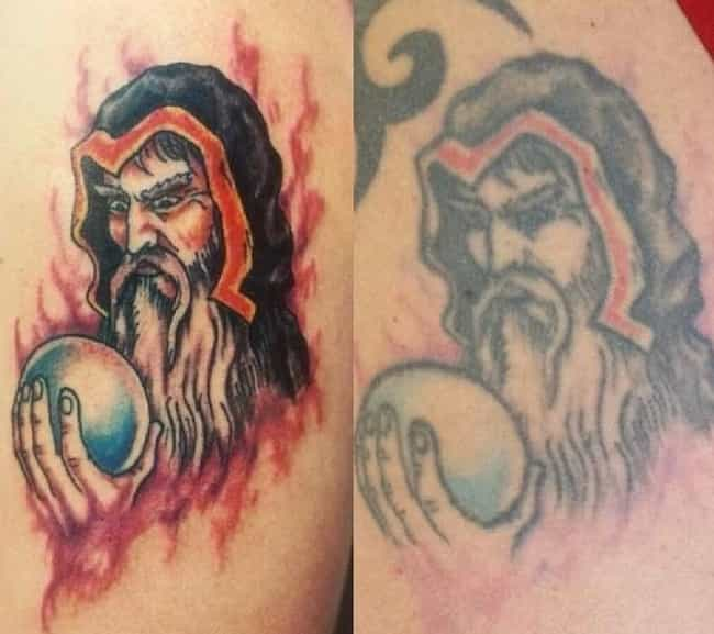 These 10+ Photos Show How Much Tattoos Fade And Age Over Time