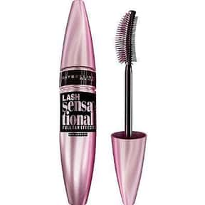 Maybelline Lash Sensational Wa is listed (or ranked) 7 on the list The Best Waterproof Mascaras