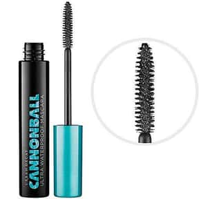 Urban Decay Cannonball Ultra W is listed (or ranked) 12 on the list The Best Waterproof Mascaras