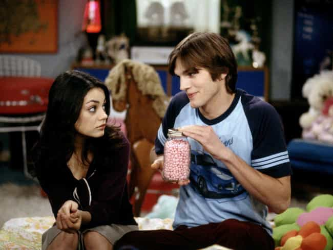 Mila Kunis Shared Her First Ki... is listed (or ranked) 3 on the list Behind The Scenes Secrets From That '70s Show Most People Don't Know