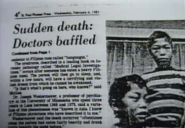 The Mysterious Deaths of Laotian Refugees Who Died In Their Sleep