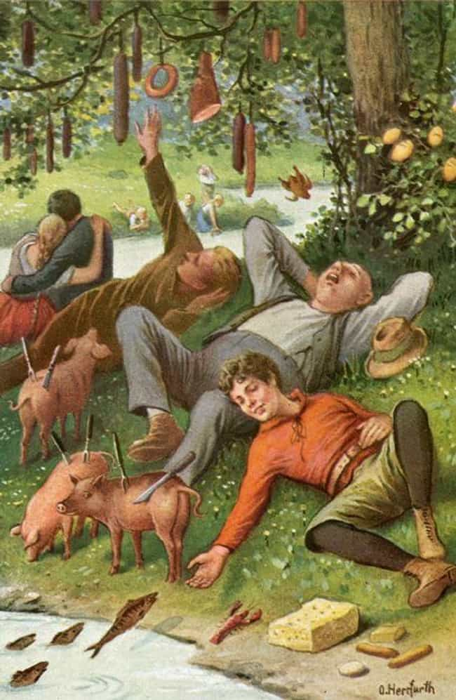 In This Fantasy World, Pigs Wa... is listed (or ranked) 1 on the list Medieval Peasants Designed Their Own Perfect Utopia, And It Was Still Super Depressing