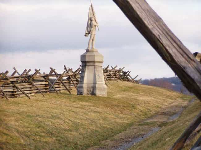 Civil War Ghosts Haunt M... is listed (or ranked) 2 on the list Scariest Hiking Trails In The U.S. That You Can Explore (If You Dare)