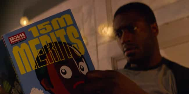 '15 Million Merits' An... is listed (or ranked) 4 on the list Wildly Convincing Black Mirror Fan Theories That Somehow Make The Show Even Crazier