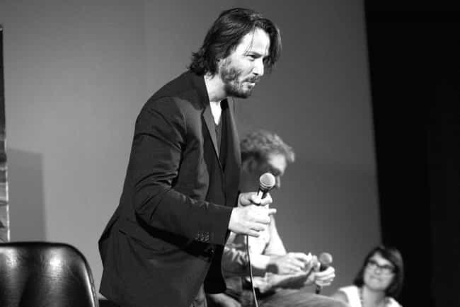 He Slouched In His Theat... is listed (or ranked) 2 on the list People Shared Their Experiences Meeting Keanu Reeves, And He's Just A Delight