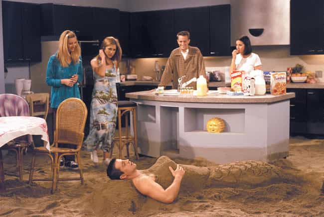 It Made The Trope Of A Sexist ... is listed (or ranked) 8 on the list How 'Friends' Ruined A Generation