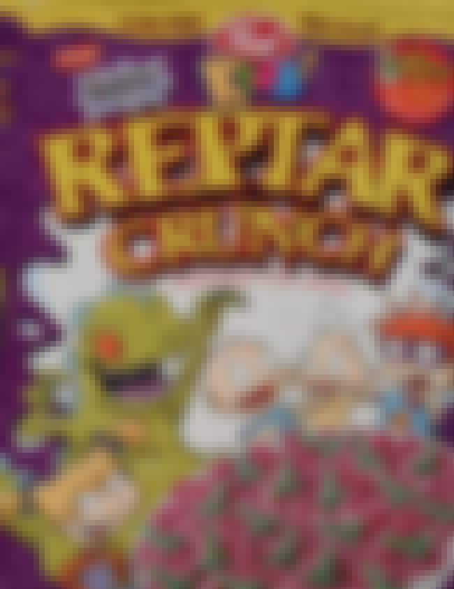 Reptar Crunch is listed (or ranked) 3 on the list Discontinued '90s Cereals You Totally Forgot About