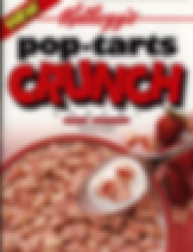 Pop-Tarts Crunch Cereal is listed (or ranked) 4 on the list Discontinued '90s Cereals You Totally Forgot About
