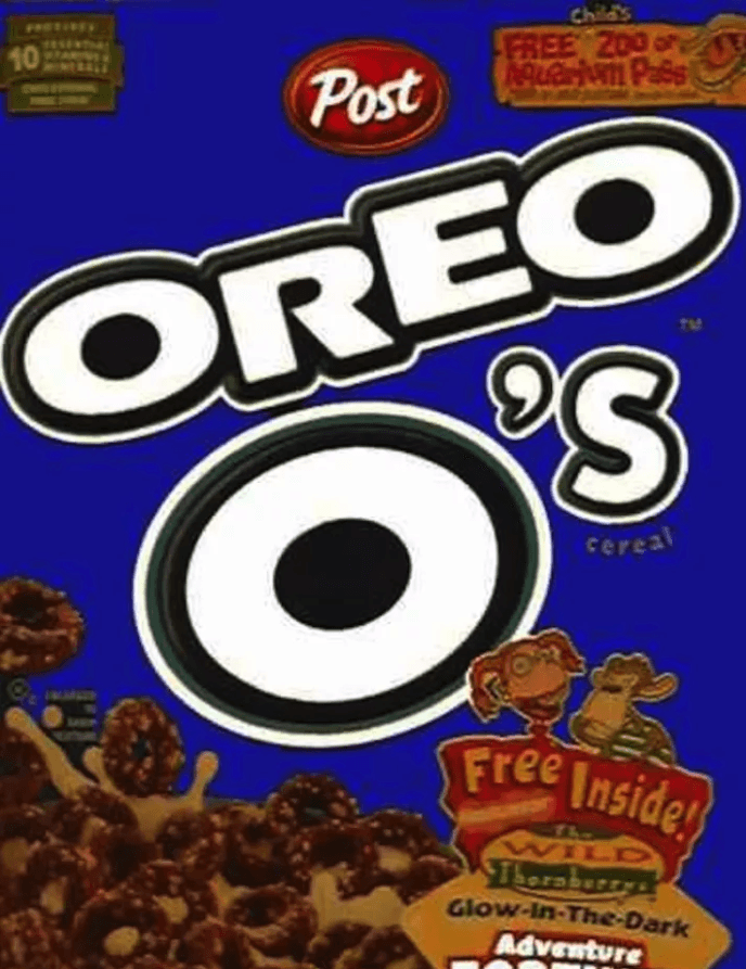 Oreo O's on Random Discontinued '90s Cereals You Totally Forgot About
