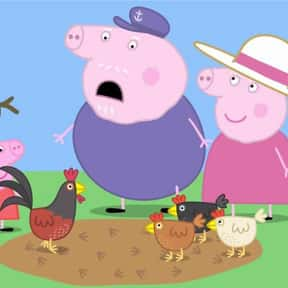 Granny Pig's Chickens / Ta is listed (or ranked) 8 on the list The Best Episodes of 'Peppa Pig'
