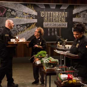 Superstar Sabotage: Heat One is listed (or ranked) 13 on the list The Best Episodes Of 'Cutthroat Kitchen'