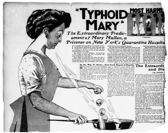 She Once Chased A Sanita... is listed (or ranked) 1 on the list The True Story Of Typhoid Mary Is Way Sadder Than You Think