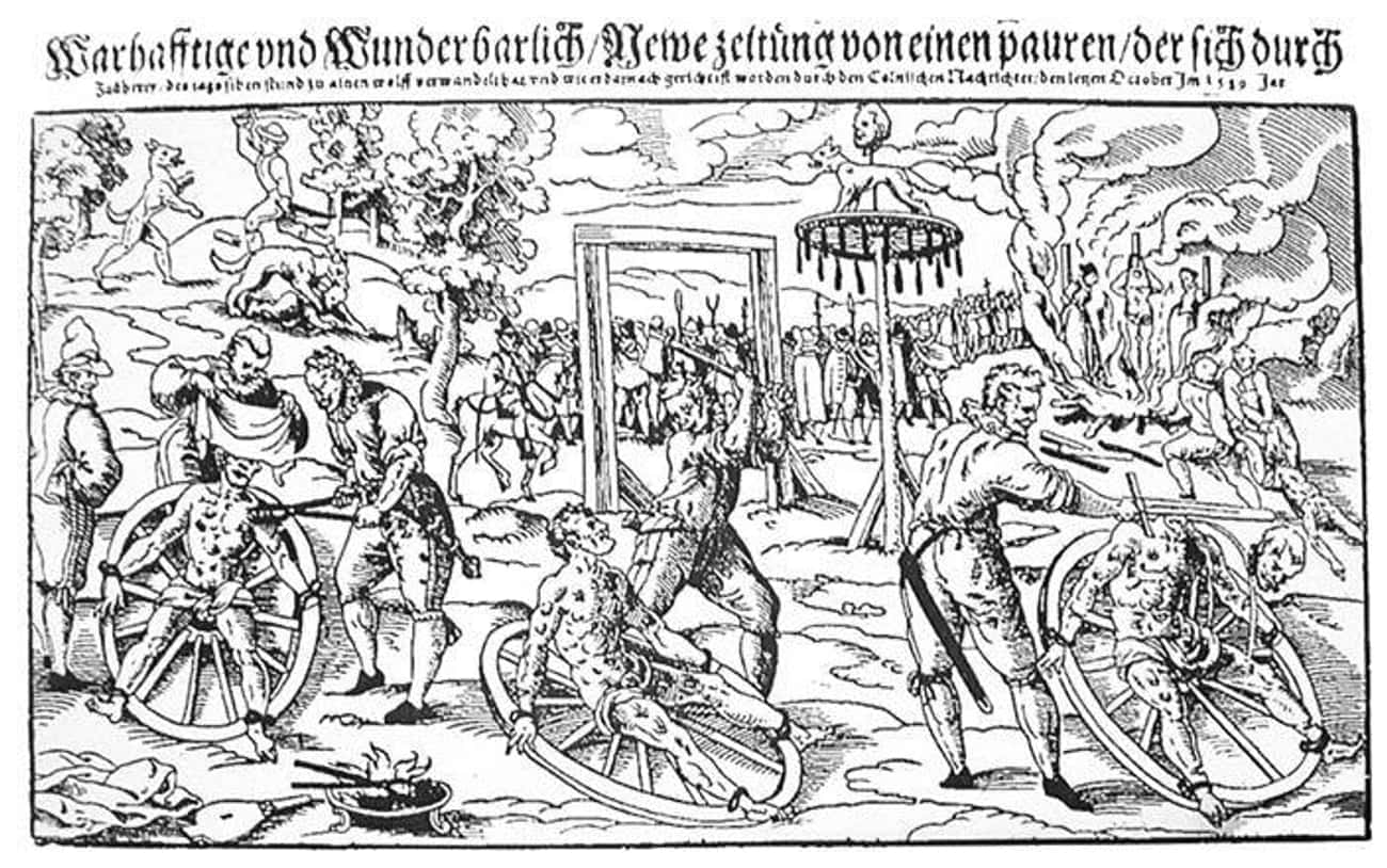 The Werewolf Of Bedburg Had Hi is listed (or ranked) 1 on the list If You Thought The Witch Trials Were Brutal, Those Condemned As Werewolves Suffered Far Worse Fates