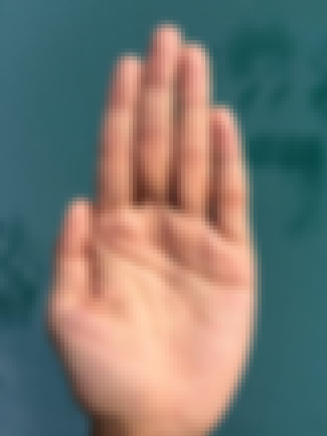 Clammy Hands Mean You Might Be... is listed (or ranked) 2 on the list Here Are All The Things You Really Don't Want To See On Your Hand During A Palm Reading
