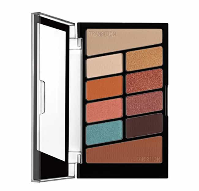 Color Icon 10 Pan Palett... is listed (or ranked) 3 on the list The Best Eyeshadow Palettes Under $25