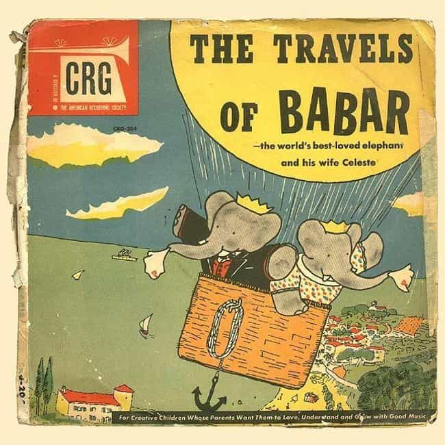 'Babar's Travels' ... is listed (or ranked) 3 on the list Turns Out Even Babar The Elephant Is Full Of Racist Symbolism