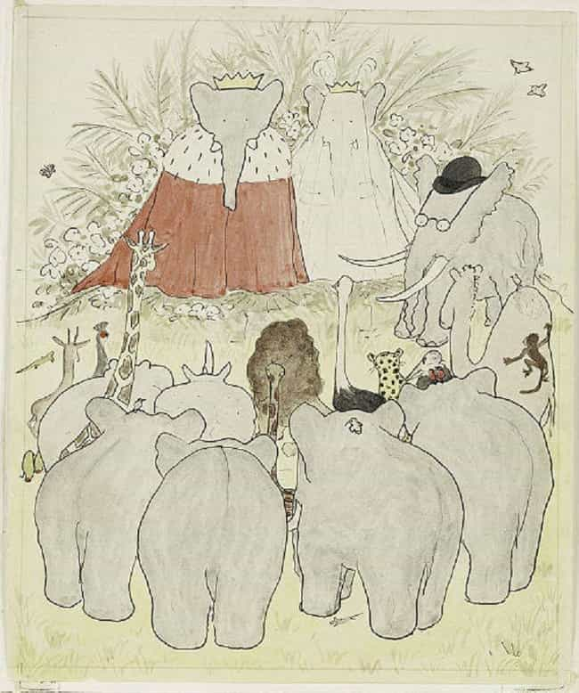 In The Land Of Quadrupedal Ele... is listed (or ranked) 1 on the list Turns Out Even Babar The Elephant Is Full Of Racist Symbolism