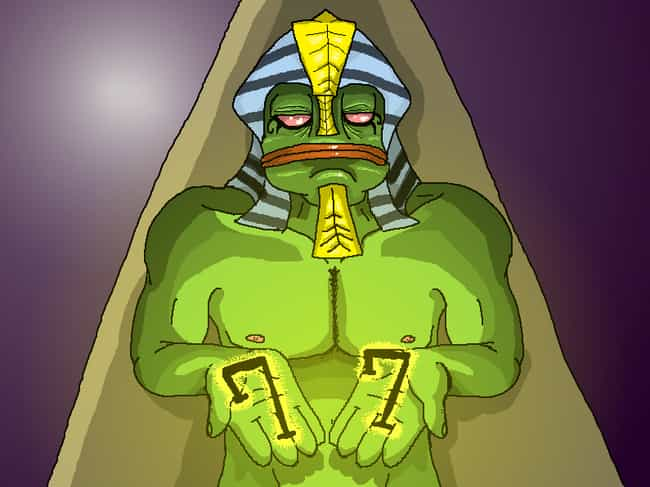 The Discovery Of Kek Was A Key... is listed (or ranked) 4 on the list People Believe Chaos Magick And An Ancient Egyptian Deity Won Trump The Election