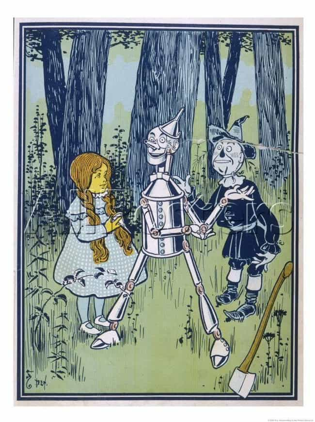 The Tinman Is A Tin Man ... is listed (or ranked) 1 on the list The Original 'Wizard of Oz' Books Are Shockingly Violent Compared To The Judy Garland Classic
