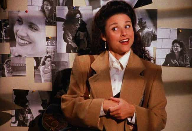 Julia Louis-Dreyfus Crie... is listed (or ranked) 2 on the list Dramatic Stories From Behind The Scenes Of 'Seinfeld'