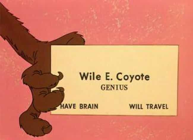Wile E. Coyote Owns Acme And A... is listed (or ranked) 4 on the list Looney Tunes Fan Theories That Will Burrow Their Way Into Your Brain