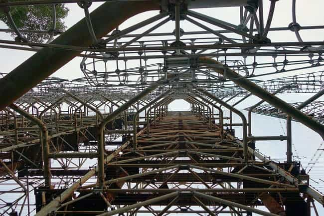 The Russian Woodpecker C... is listed (or ranked) 3 on the list These Conspiracy Theories Suggest Something Even More Sinister Happened At Chernobyl