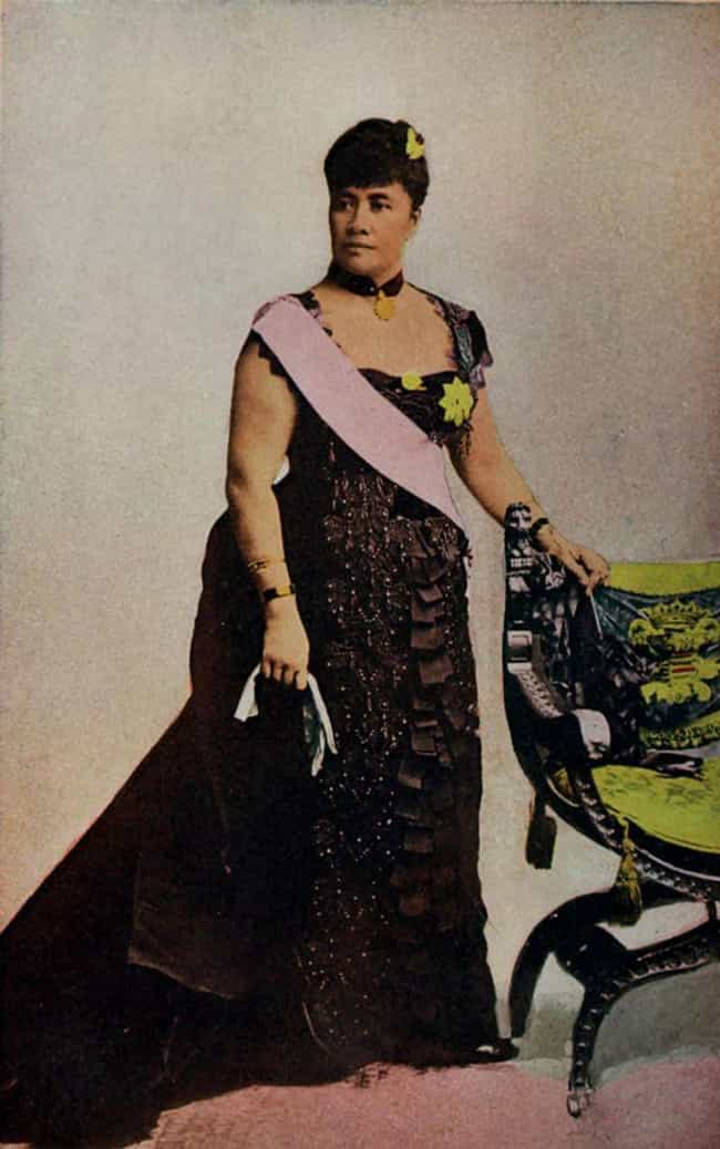 In 1891, Lili'uokalani Bec... is listed (or ranked) 3 on the list The Insane Story Of How A Fruit Juice Company Forcefully Stole The Hawaiian Kingdom