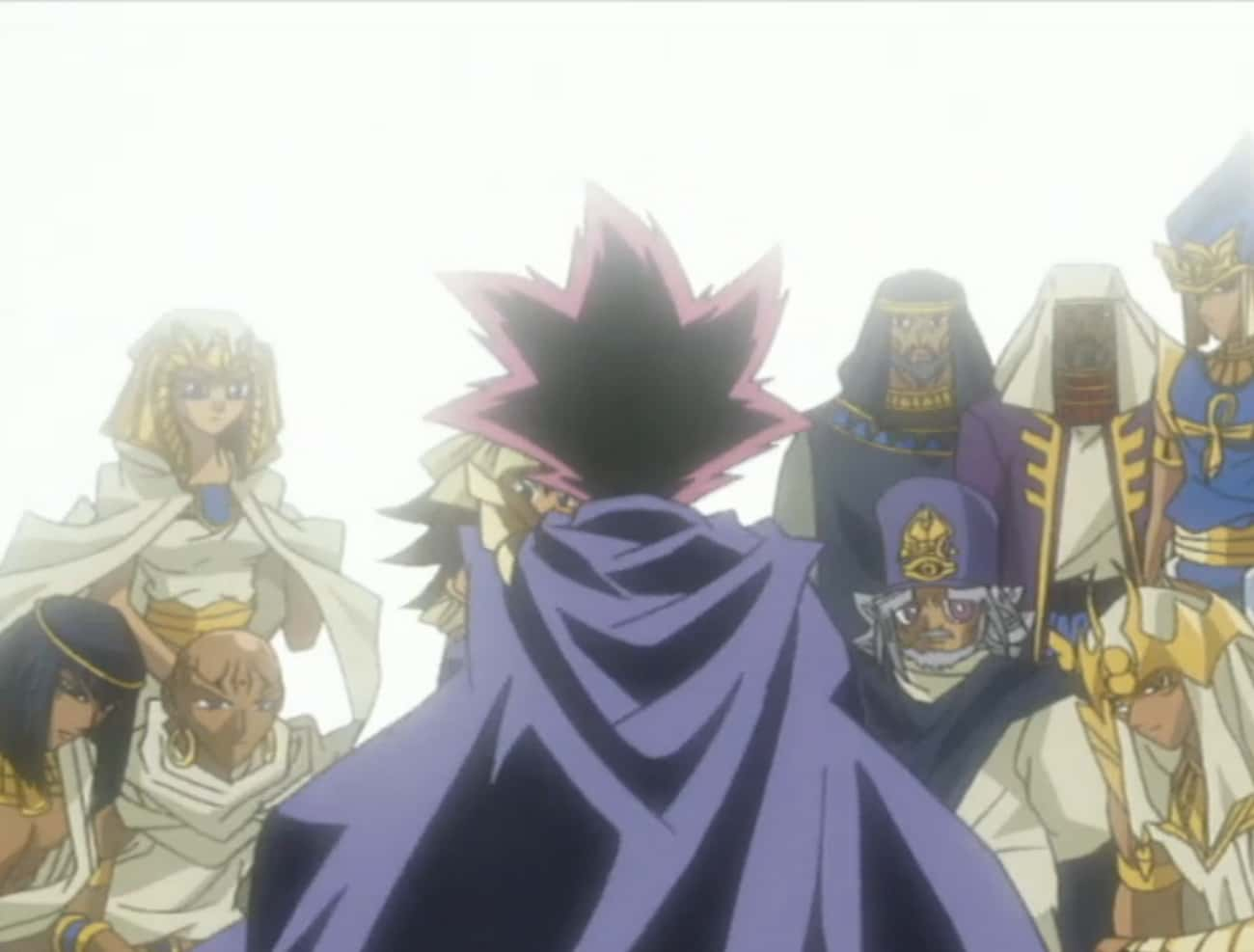 The Characters Of 'Yu-Gi-O is listed (or ranked) 2 on the list Yu-Gi-Oh! Fan Theories That'll Send Your Childhood To The Shadow Realm
