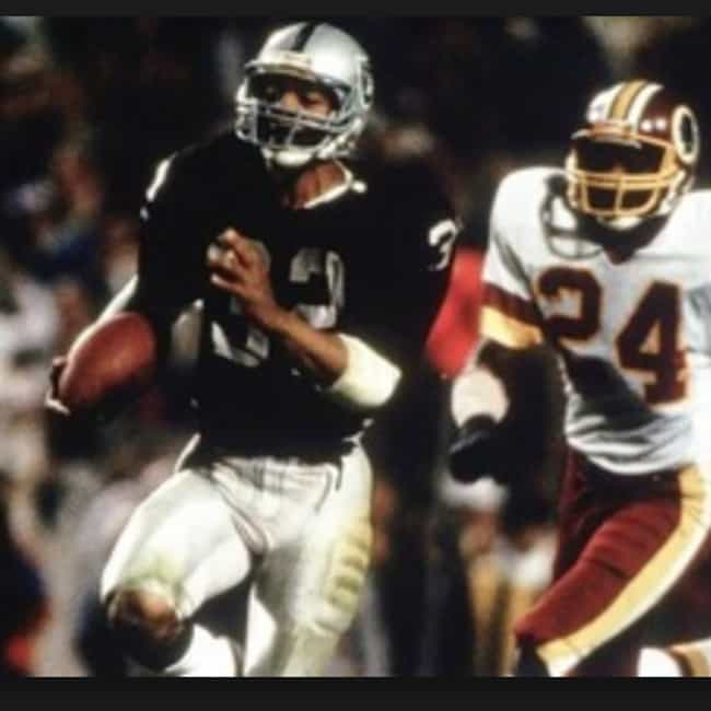 Marcus Allen's Touchdown... is listed (or ranked) 3 on the list The Greatest Moments in Super Bowl History