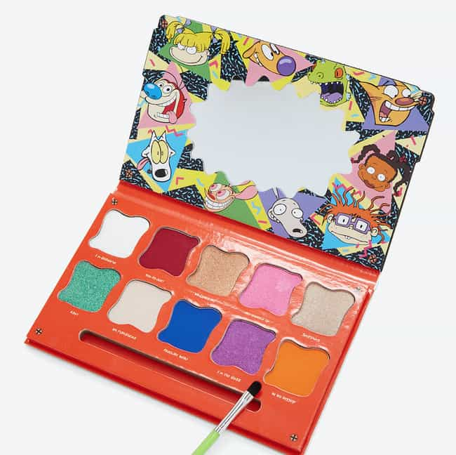 Hot Topic's Nickelodeon Ey... is listed (or ranked) 4 on the list 18 Adorable Makeup Products That Will Make You Insanely Nostalgic