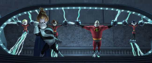The Government Was In Ca... is listed (or ranked) 4 on the list The Incredibles Fan Theories