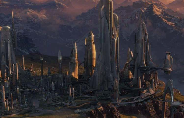 San Tekka Is From Alderaan, Leia's Home Planet