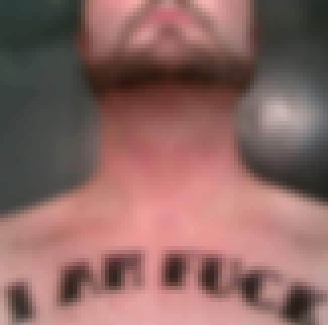 Eff Off is listed (or ranked) 3 on the list People Share Photos Of Their Most Regrettable Tattoos, And Yeah They're Pretty Bad
