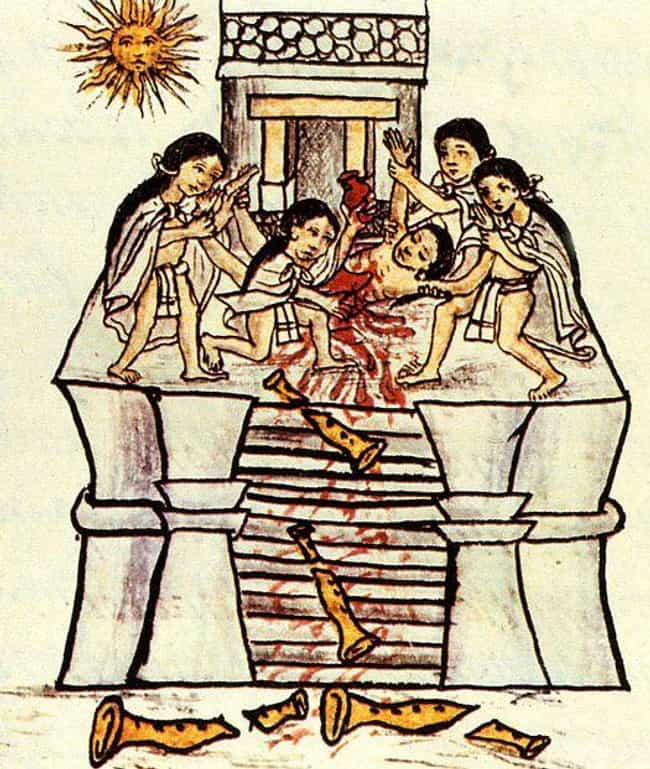 Male Sacrifices Were Given Fou... is listed (or ranked) 1 on the list Sexuality In The Aztec Empire Was Actually Even More Repressed Than Puritan England